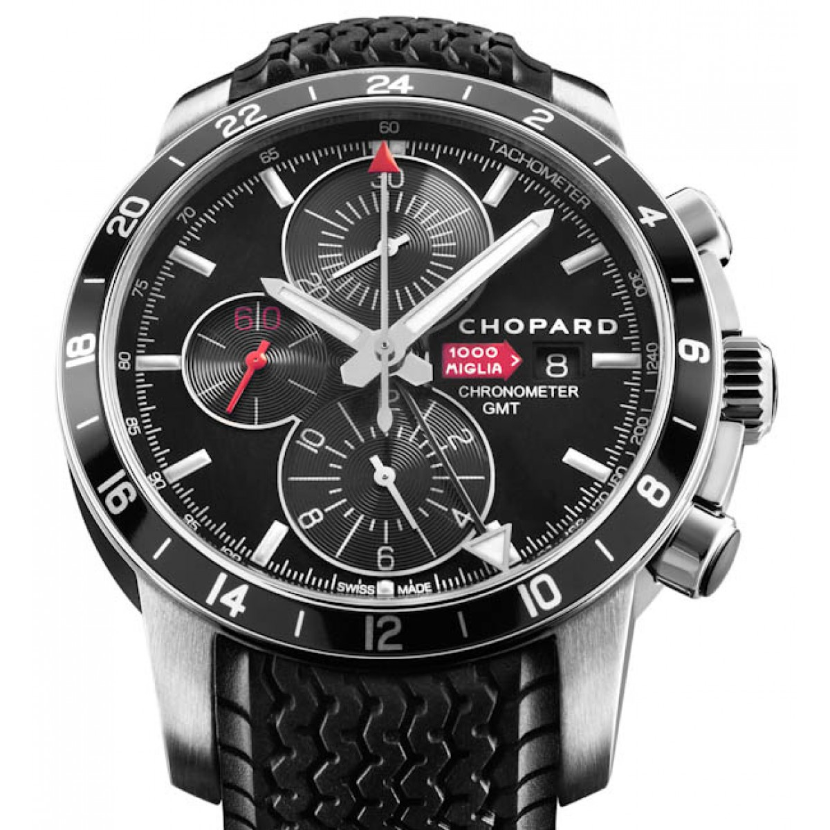 rel gio r plica chopard mille miglia chrono gmt black. Black Bedroom Furniture Sets. Home Design Ideas