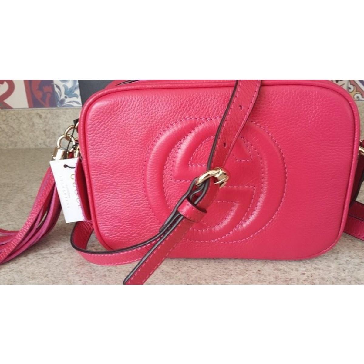 Bolsa Gucci Pequena Inspired : R?plica de bolsa gucci soho disco pink