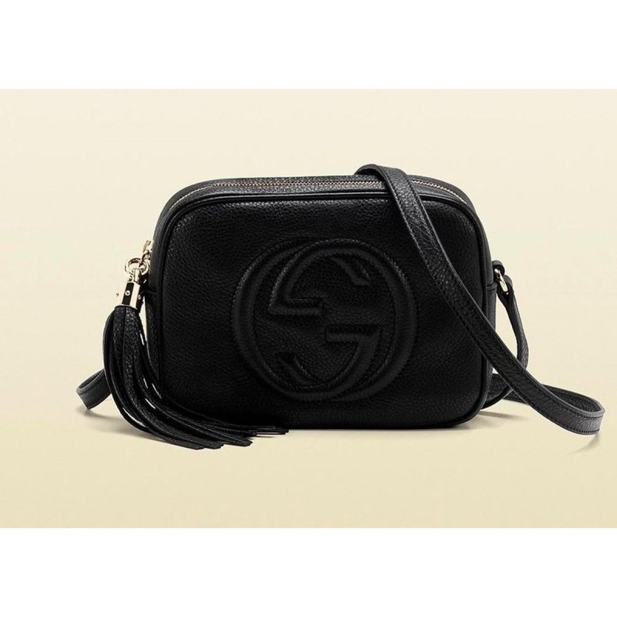 Bolsa Gucci Pequena Inspired : R?plica de bolsa gucci soho disco preta