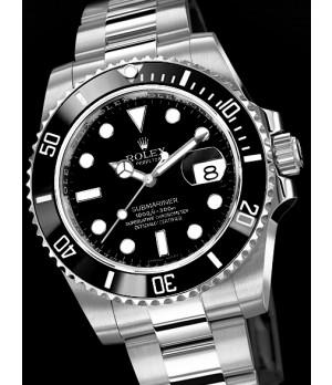 Relógio Réplica Rolex Submariner Black