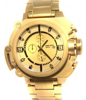 Relógio Réplica Diesel 10 Bar Gold