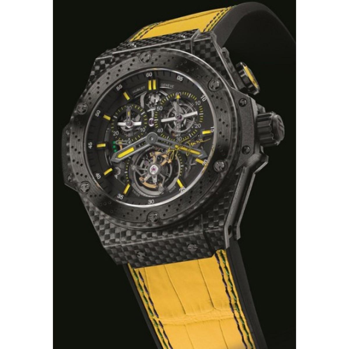 436d4aa5572 Relógio Réplica Hublot King Power Ayrton Senna