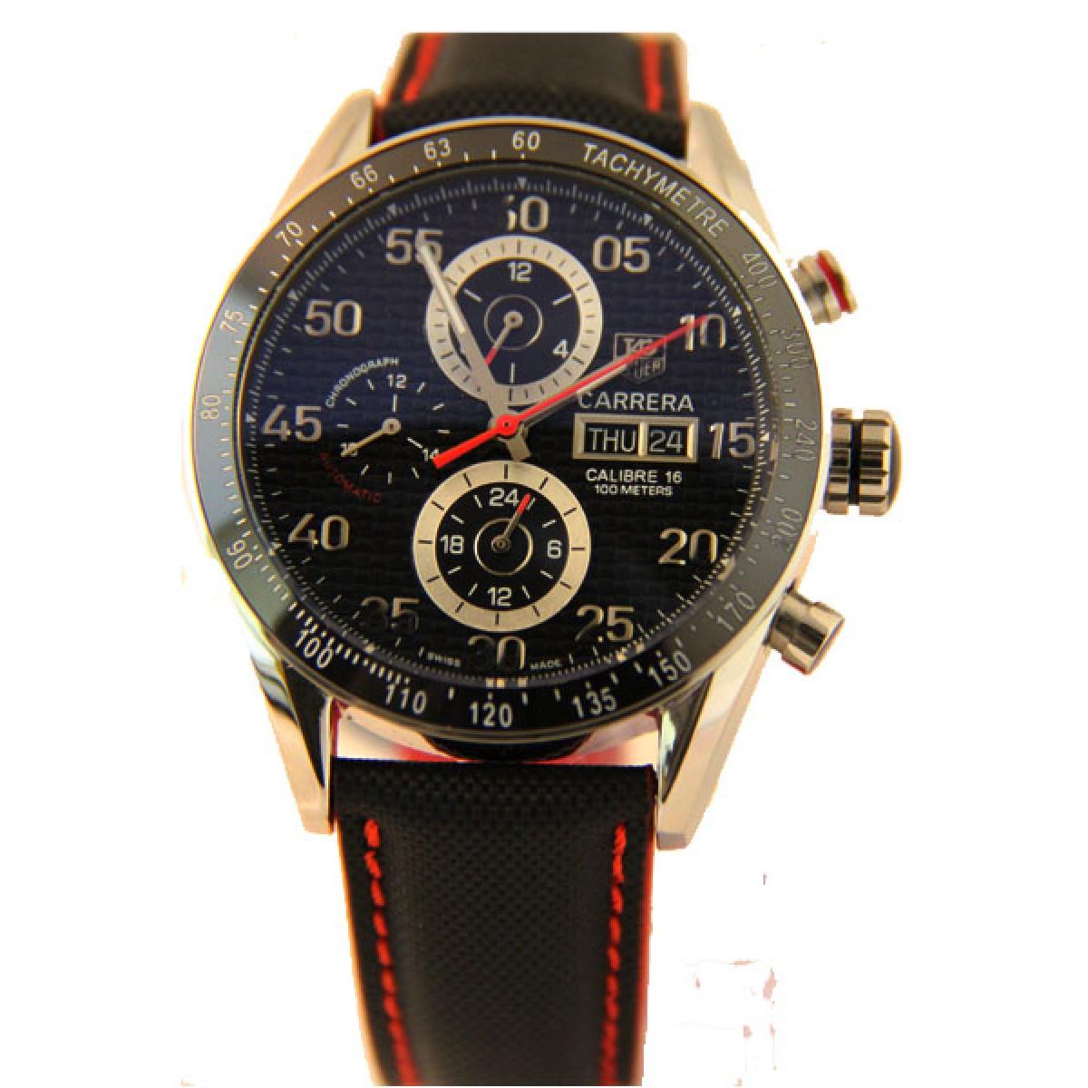1e6cf307eda Réplica Relógio Tag Heuer Carrera Calibre 16 Ceramica