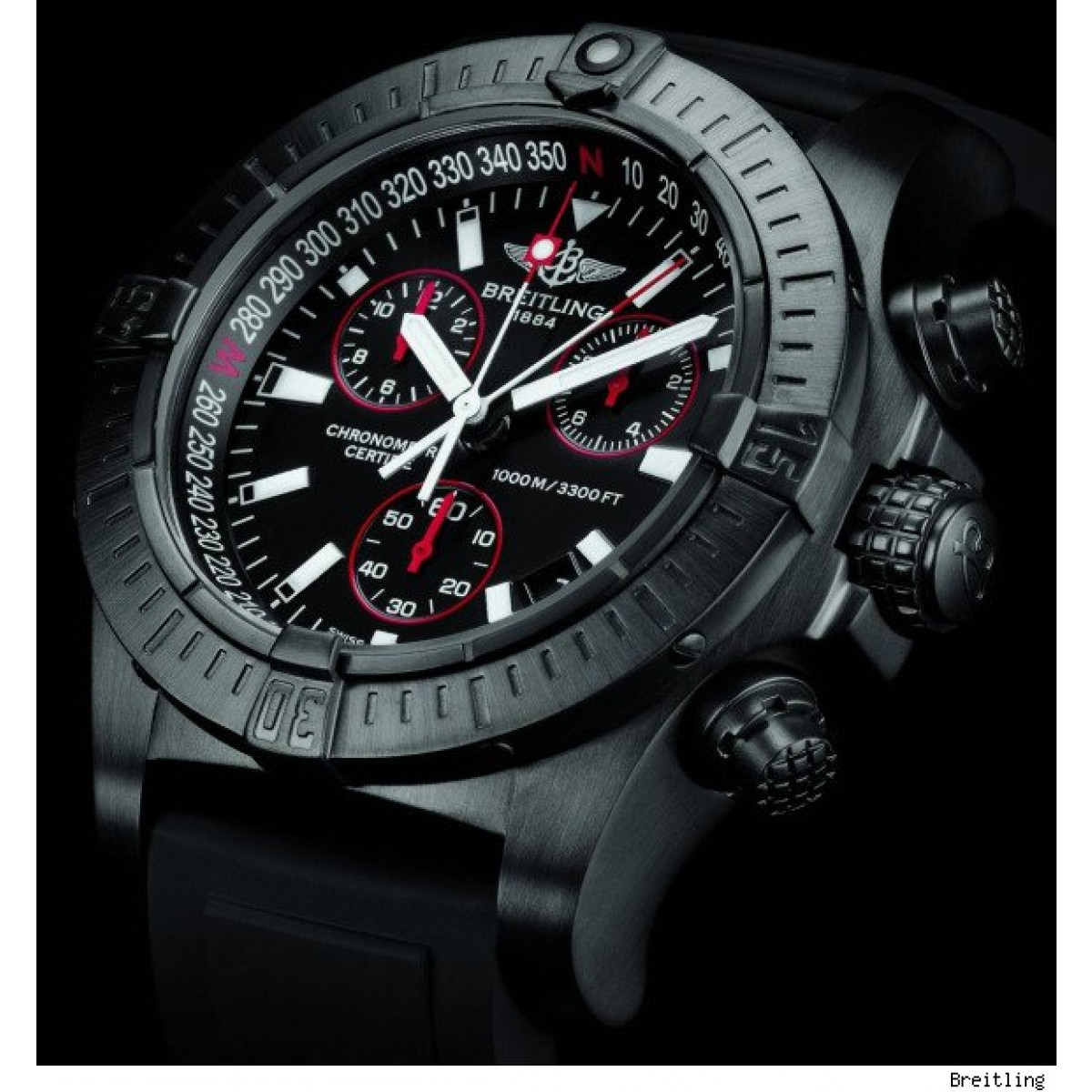 ba23c2148b9 Relógio Réplica Breilting Avenger Titanium - New