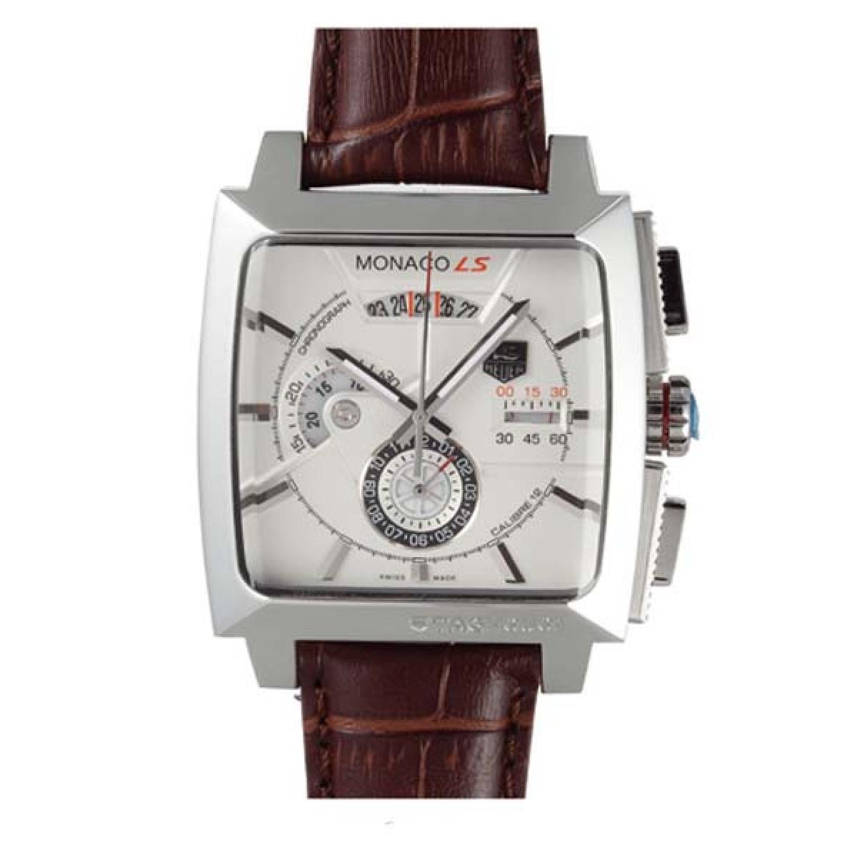77b9ffdfa91 Relógio Réplica Tag Heuer Monaco ls Branco