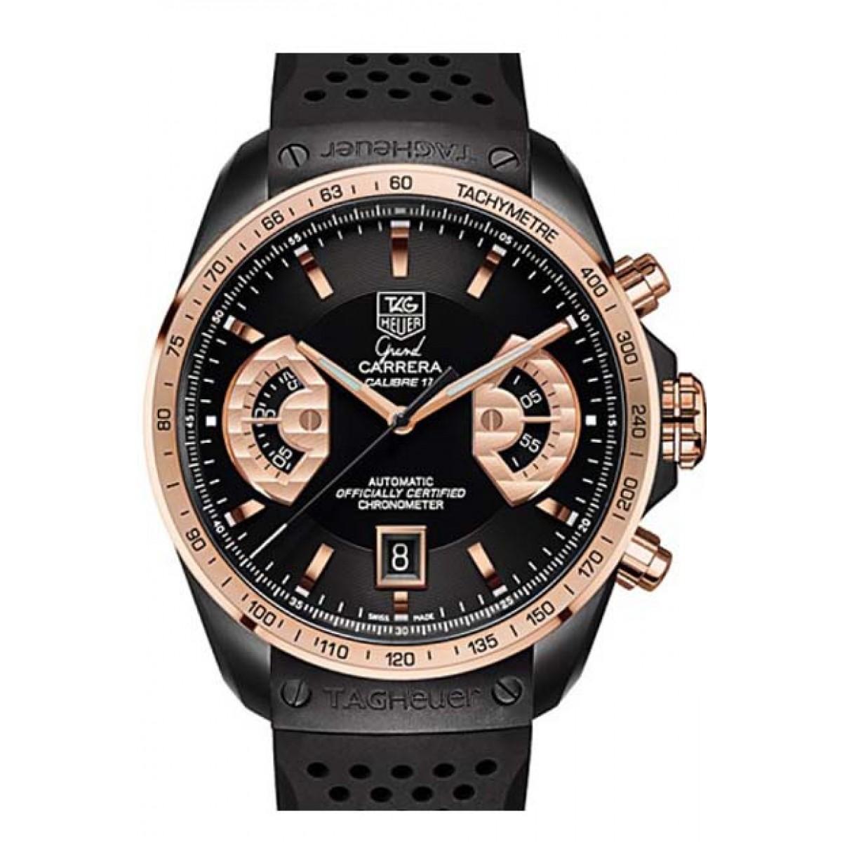 b3601c92090 Relógio Réplica Tag Heuer Grand Carrera Calibre 17