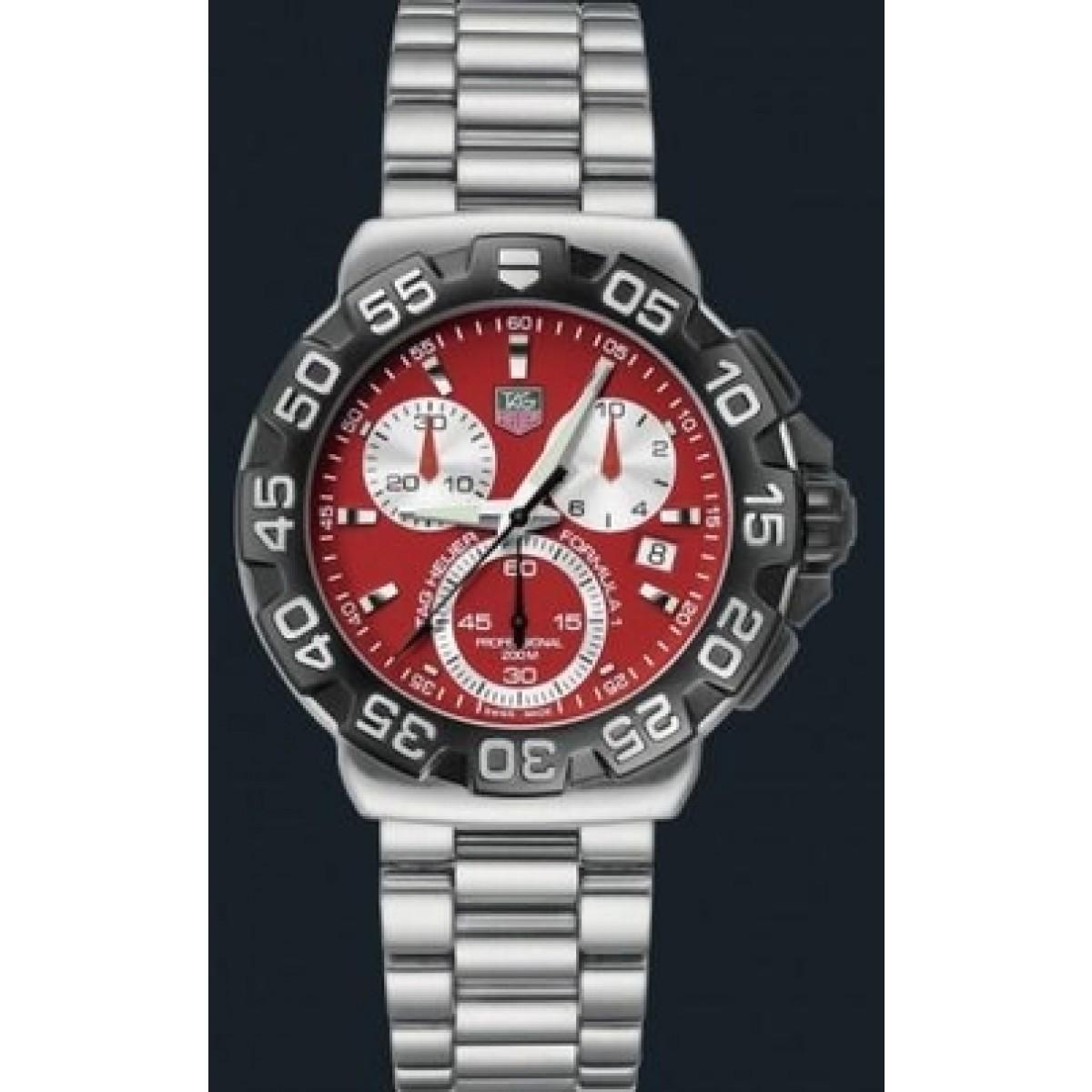 087e6a26a53 réplica Relógio Tag Heuer Formula 1 Chrono