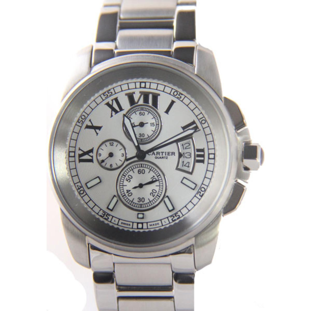 4509616f681 Relógio Réplica Cartier Calibre Datador