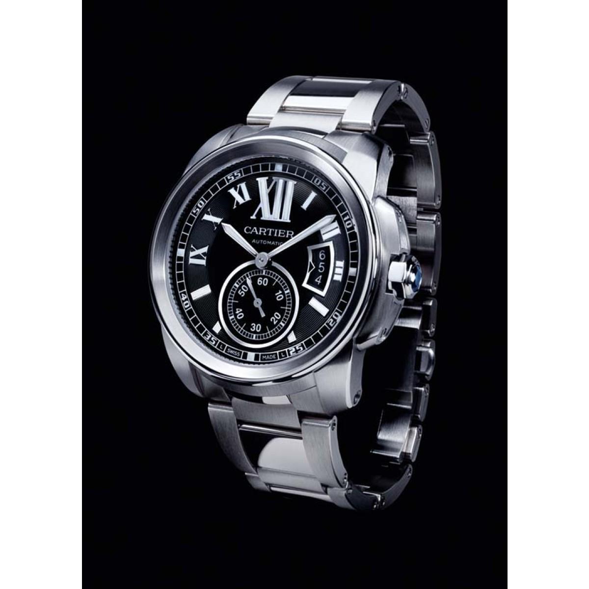 791974126ce Relógio Réplica Cartier Calibre Aço