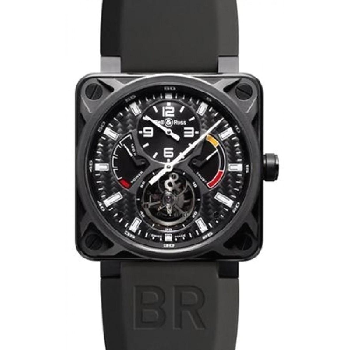 d128a04c243 Relógio Réplica Bell   Ross BR 01 Tourbillon
