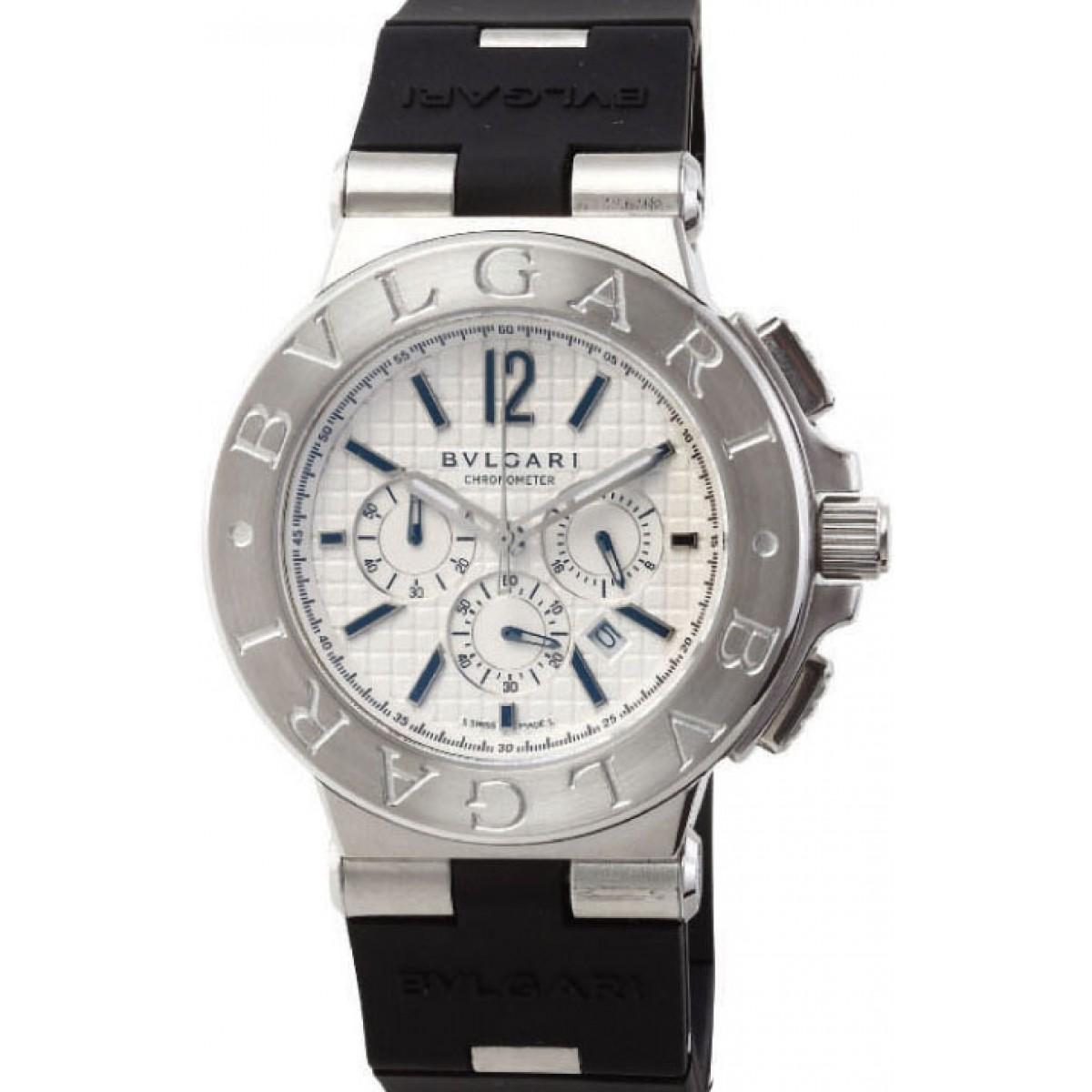 74216842f5a Relógio Réplica Bulgari Titanium Aço