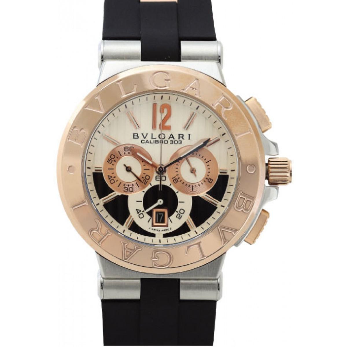 daae728cb6d Relógio Réplica Bulgari Calibro 303