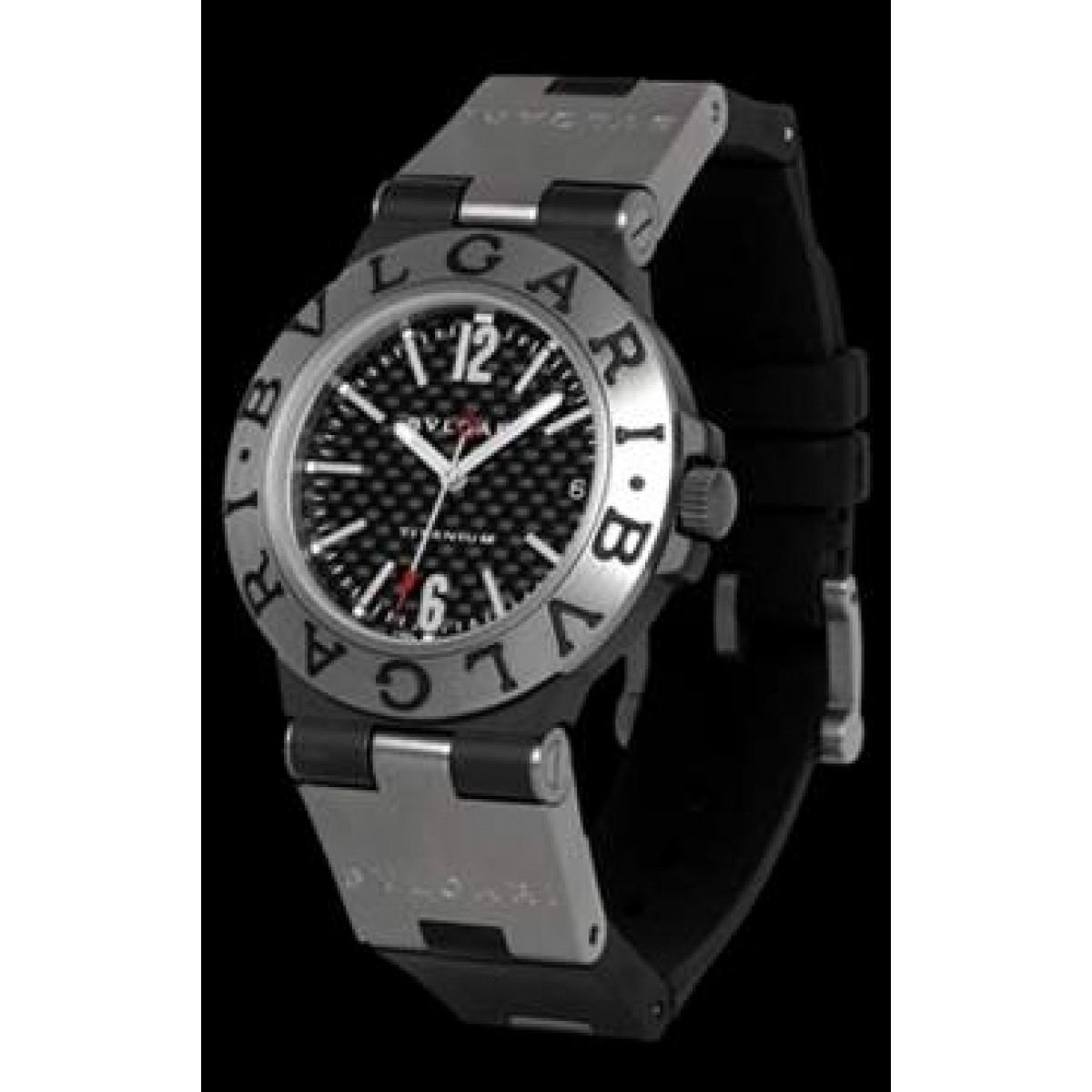 c26782b6a1c Espiar · Relógio Bulgari Diagono Titanium 01