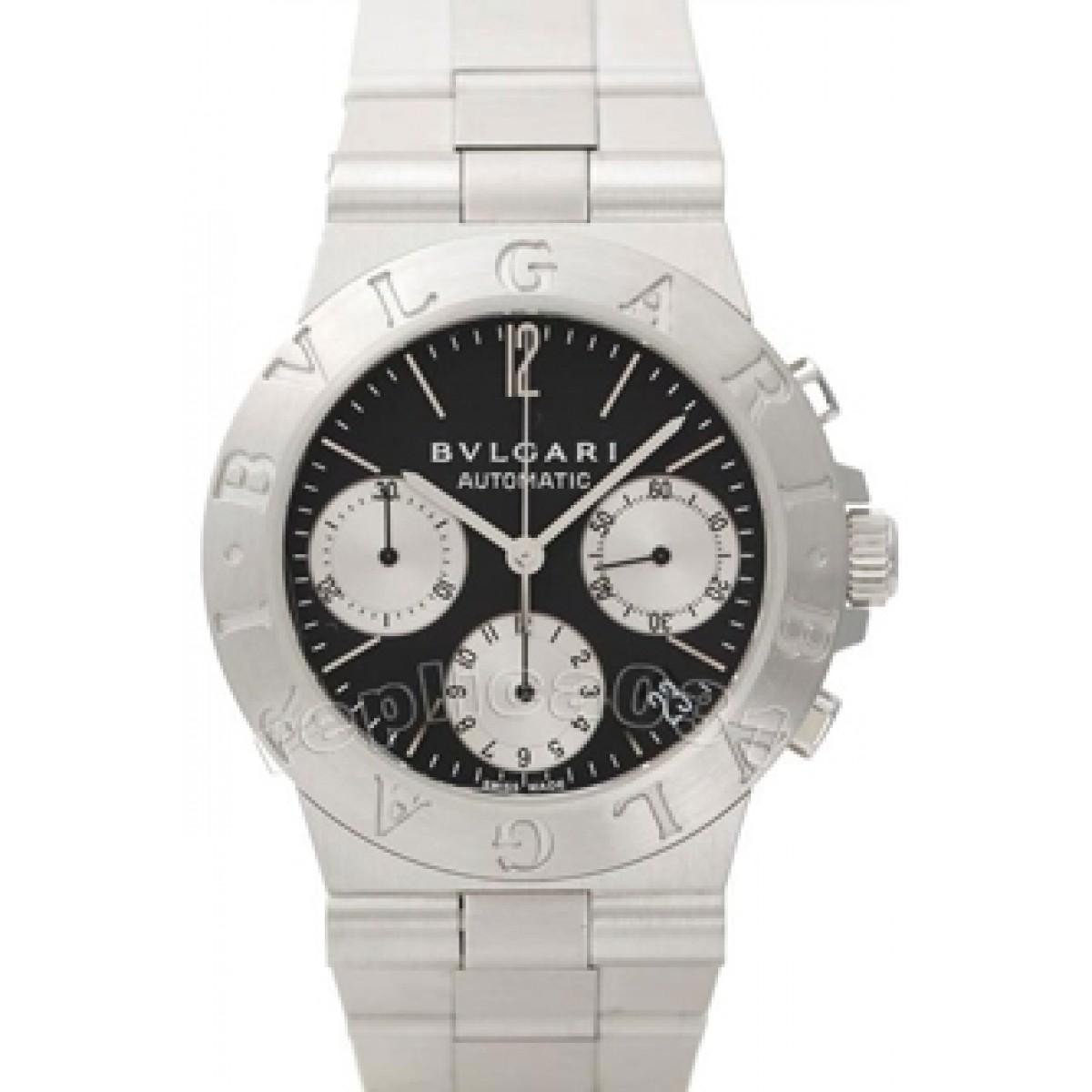 dfa13f769fb Espiar · Relógio Bulgari Diagono Chrono 02