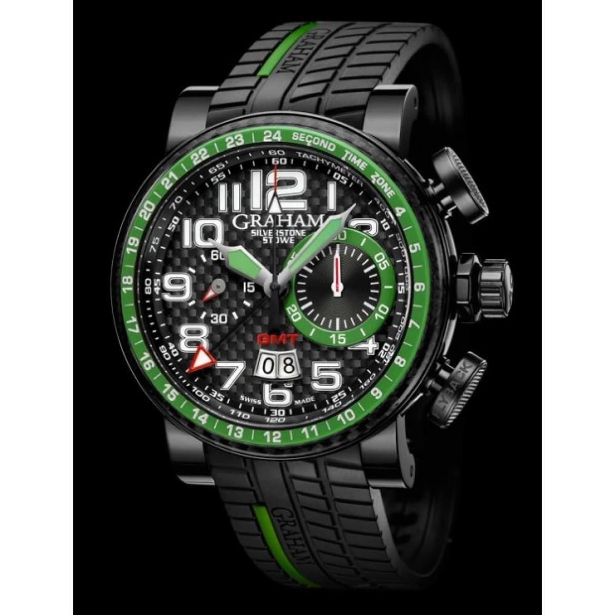 0cccfcdd6a4 Relógio Réplica Graham Silverstone Green