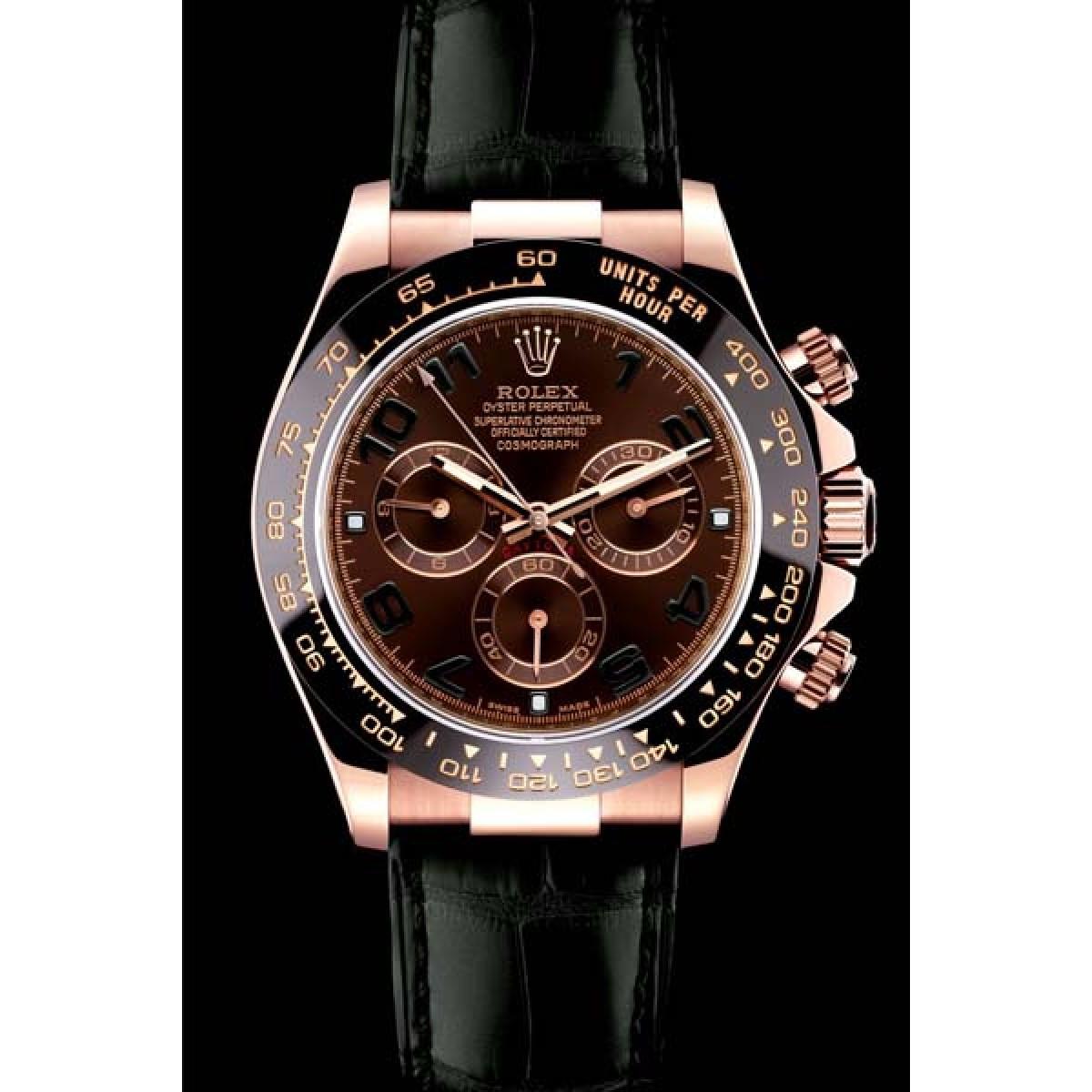 34ba295eb4b Relógio Réplica Rolex Daytona Dark Chocolate