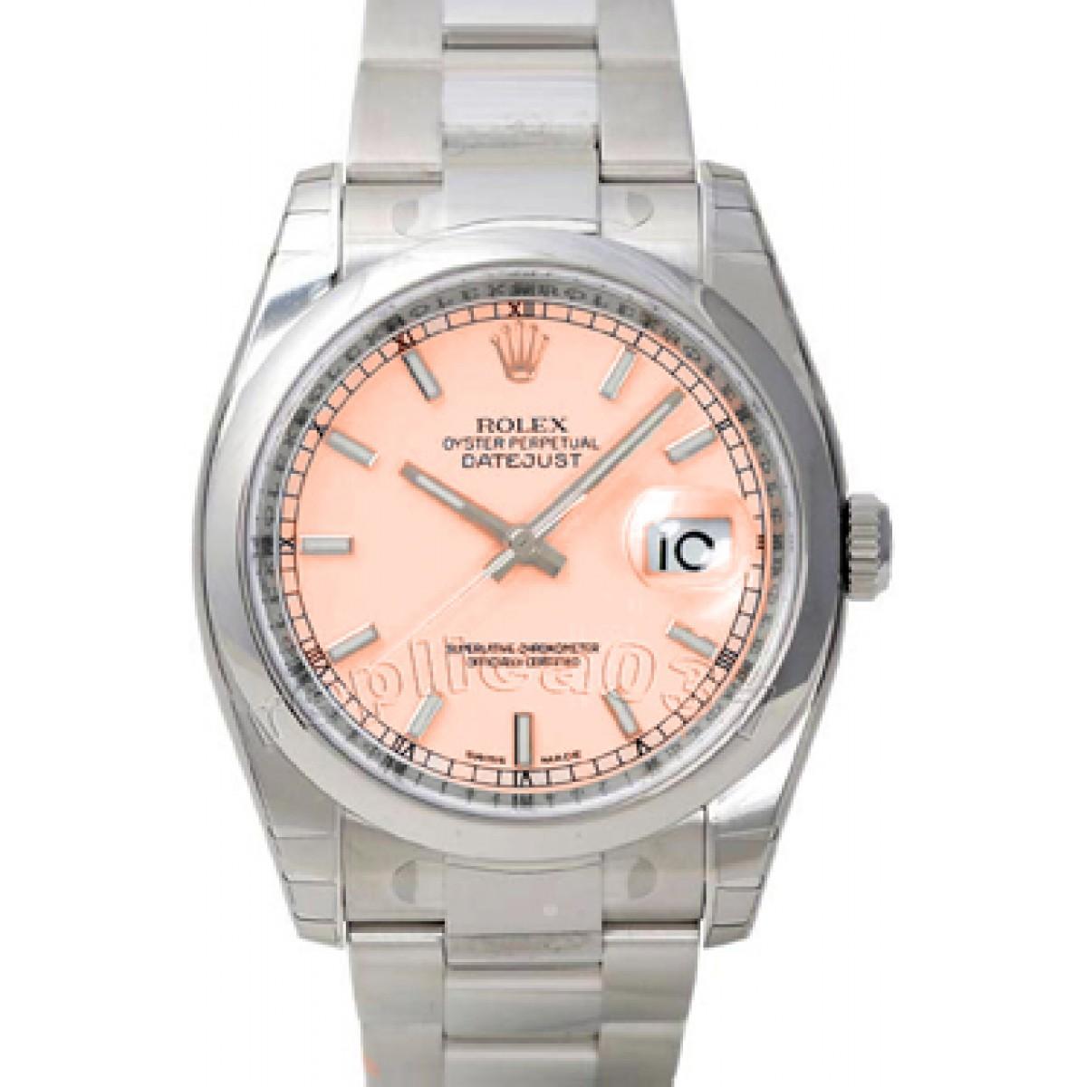 ff663791ec6 Relógio Réplica Rolex DateJust Salmão