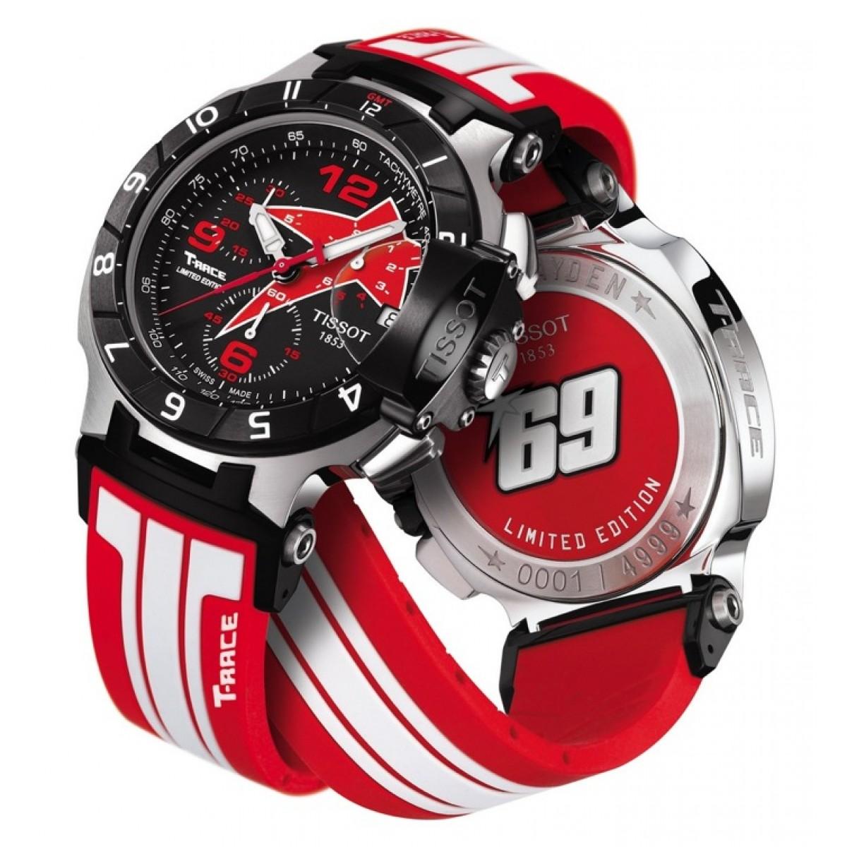 688fe31e0a4 Relógio Réplica Tissot T-Race Nicky Hayden Edition Especial