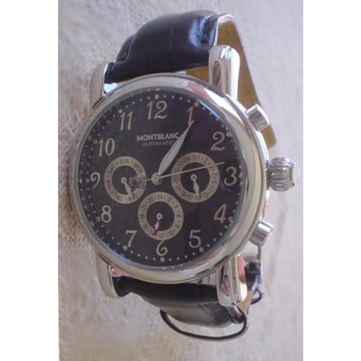 56ce8d1b290 Relógio Réplica Montblanc Meisterstuck 02
