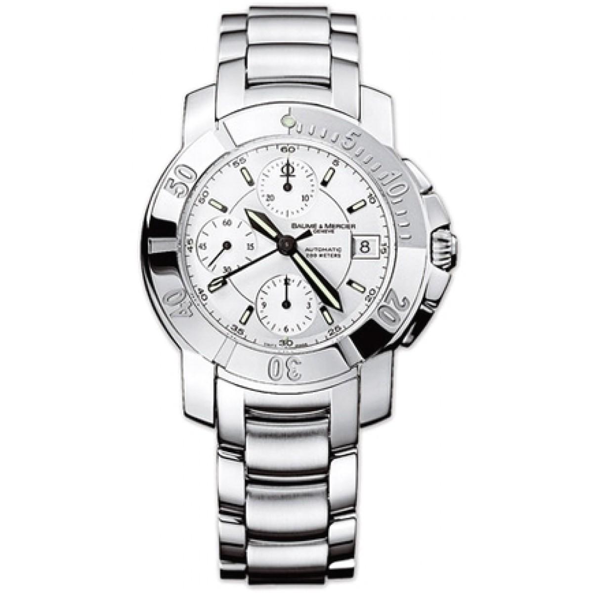 0116a989ec8 Relógio Réplica Baume Mercier Capland Chrono 03