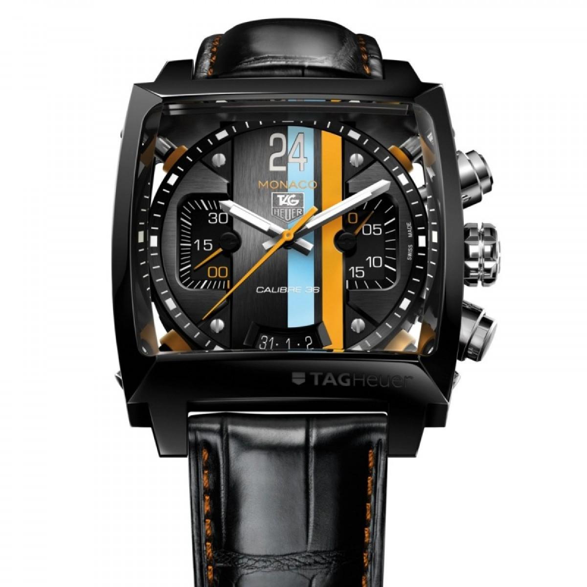 2d8adbabeb1 Relógio Réplica Tag Heuer Monaco 24 Concept Chronograph