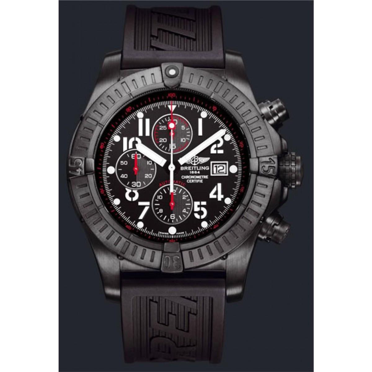 b94d0119f02 Relógio Réplica Breitling Super Avenger