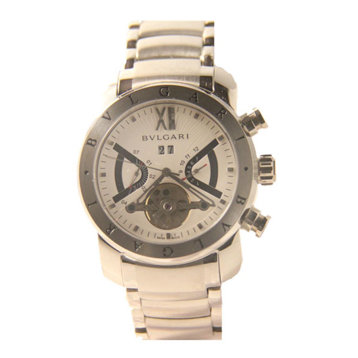 6ec246290d8 Relógio Réplica Bulgari Homem de Ferro Automatico White