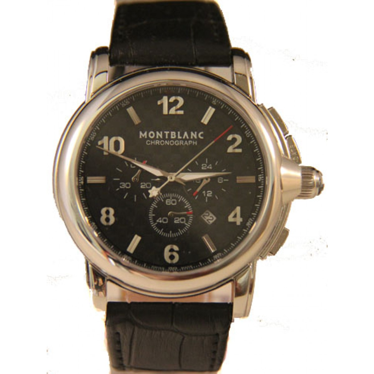 b21ae45b665 Espiar · Relógio Réplica Montblanc Chronograph
