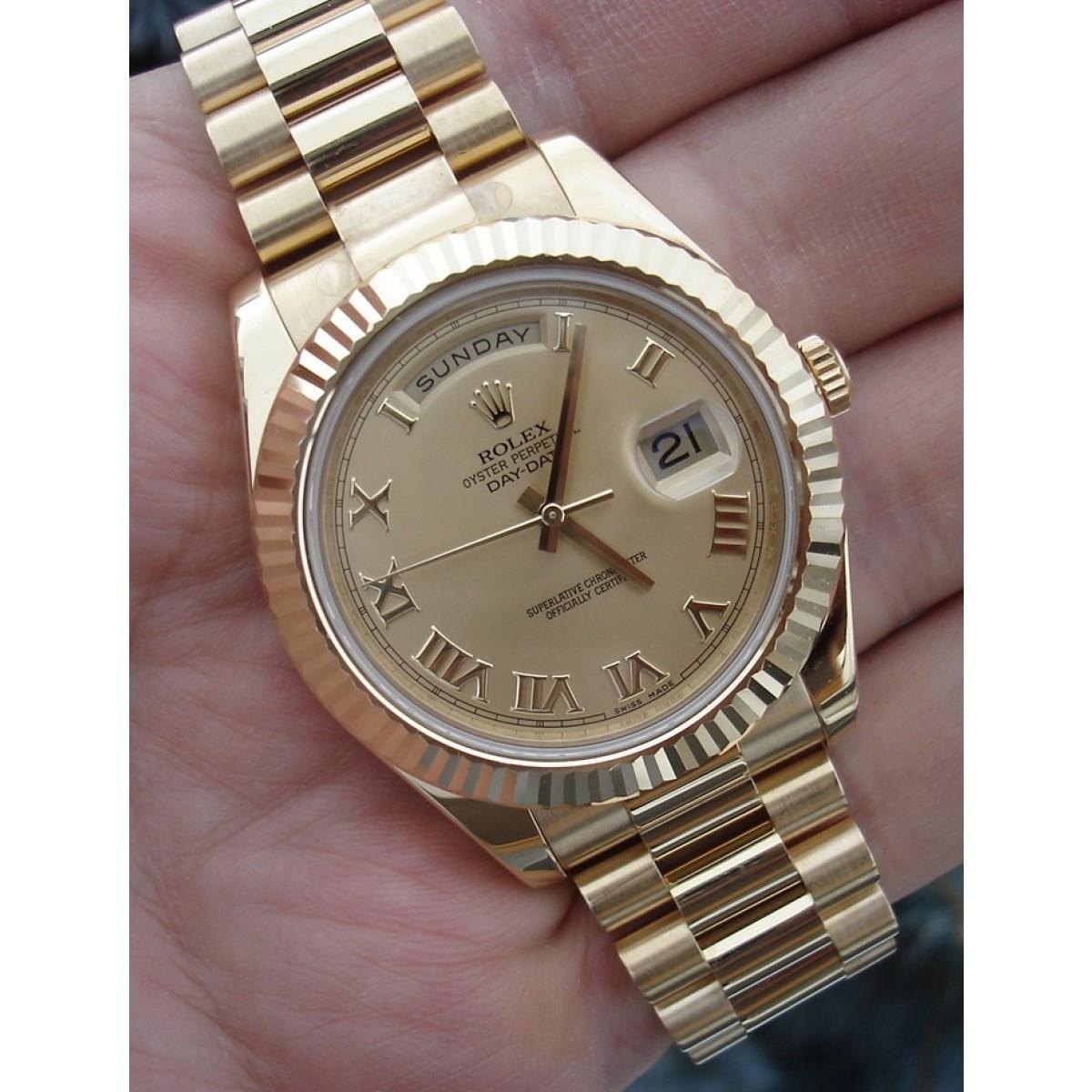 32797c734a6 Relógio Réplica Rolex Day Date Presidente
