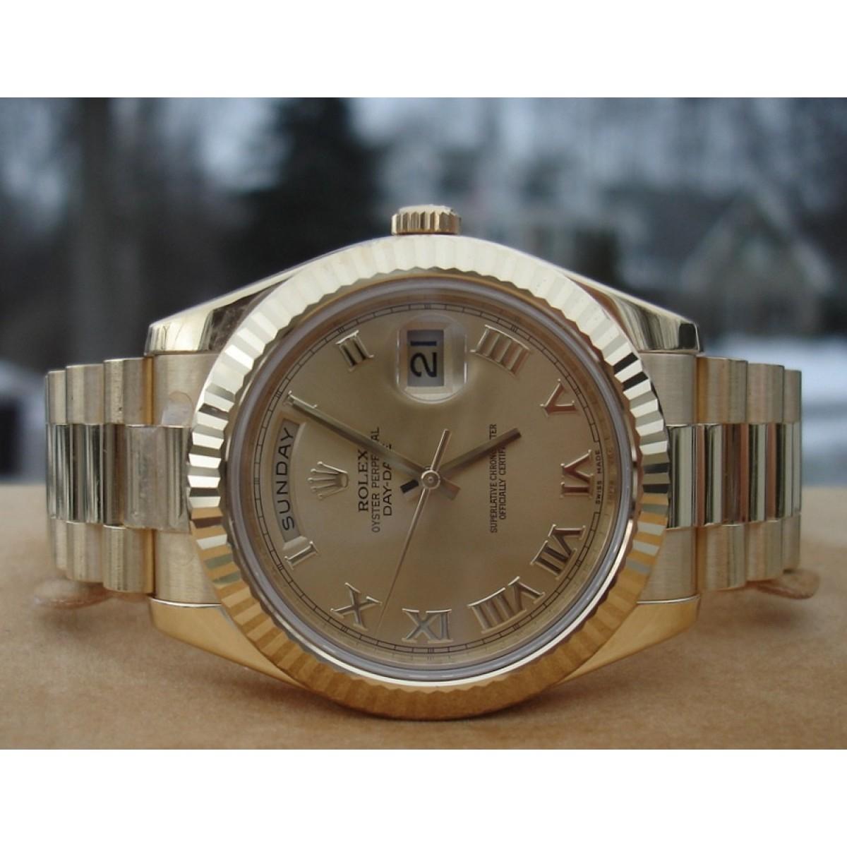 fc0854b7f35 Relógio Réplica Rolex Day Date Presidente