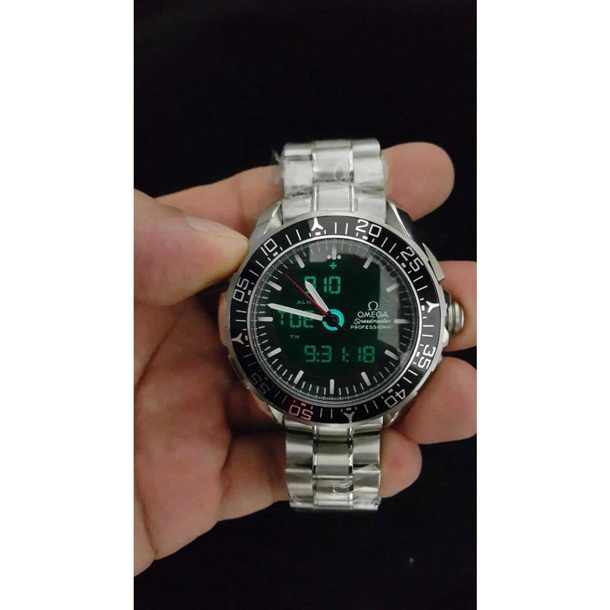 082cd7e51eb Réplica de Relógio Omega Speedmaster Skywalker X-33