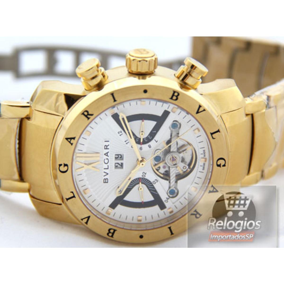 Relógio Réplica Bulgari X Men 0aca6f2923