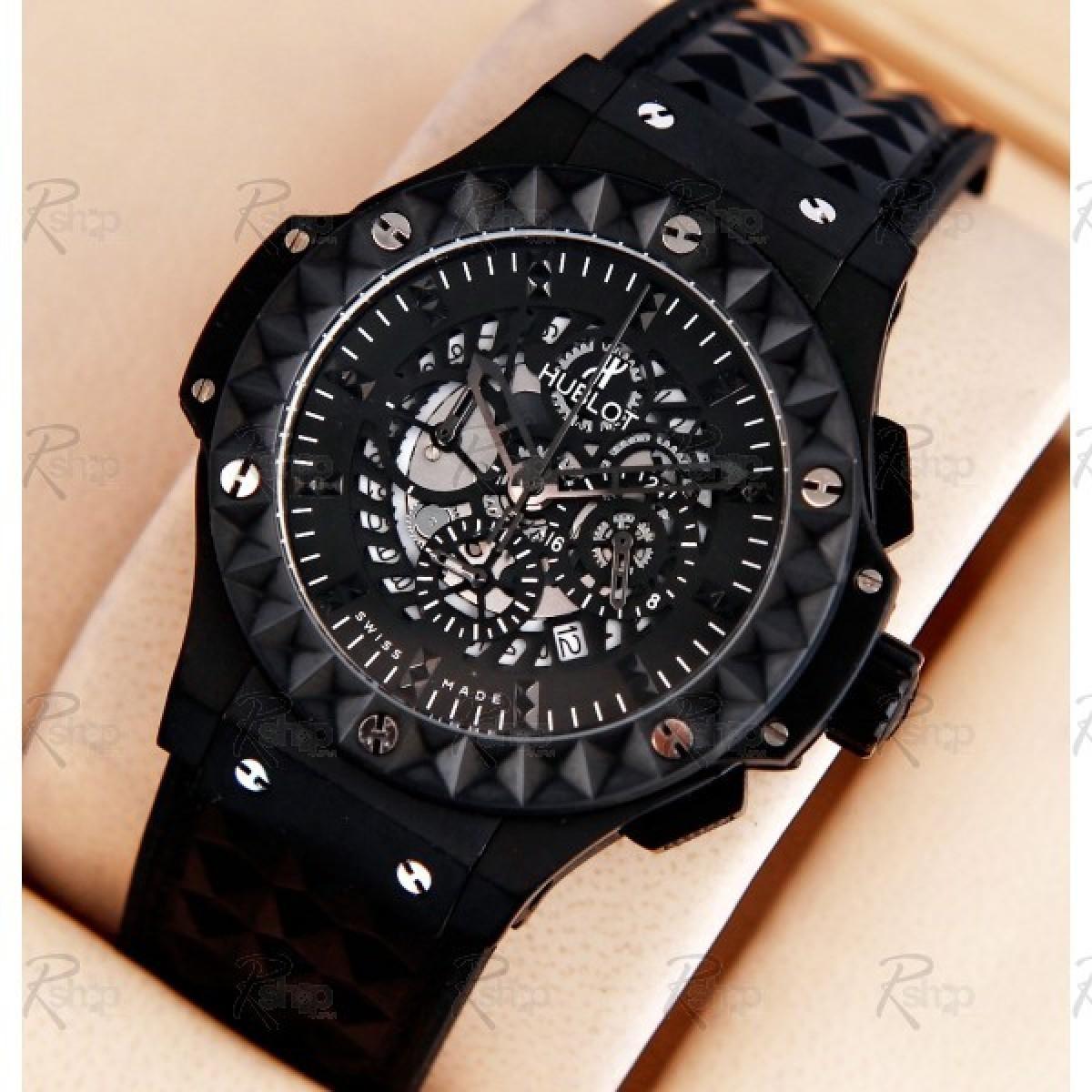 e6e5a97257e Espiar · Relógio Réplica Hublot Big Bang Depeche Black