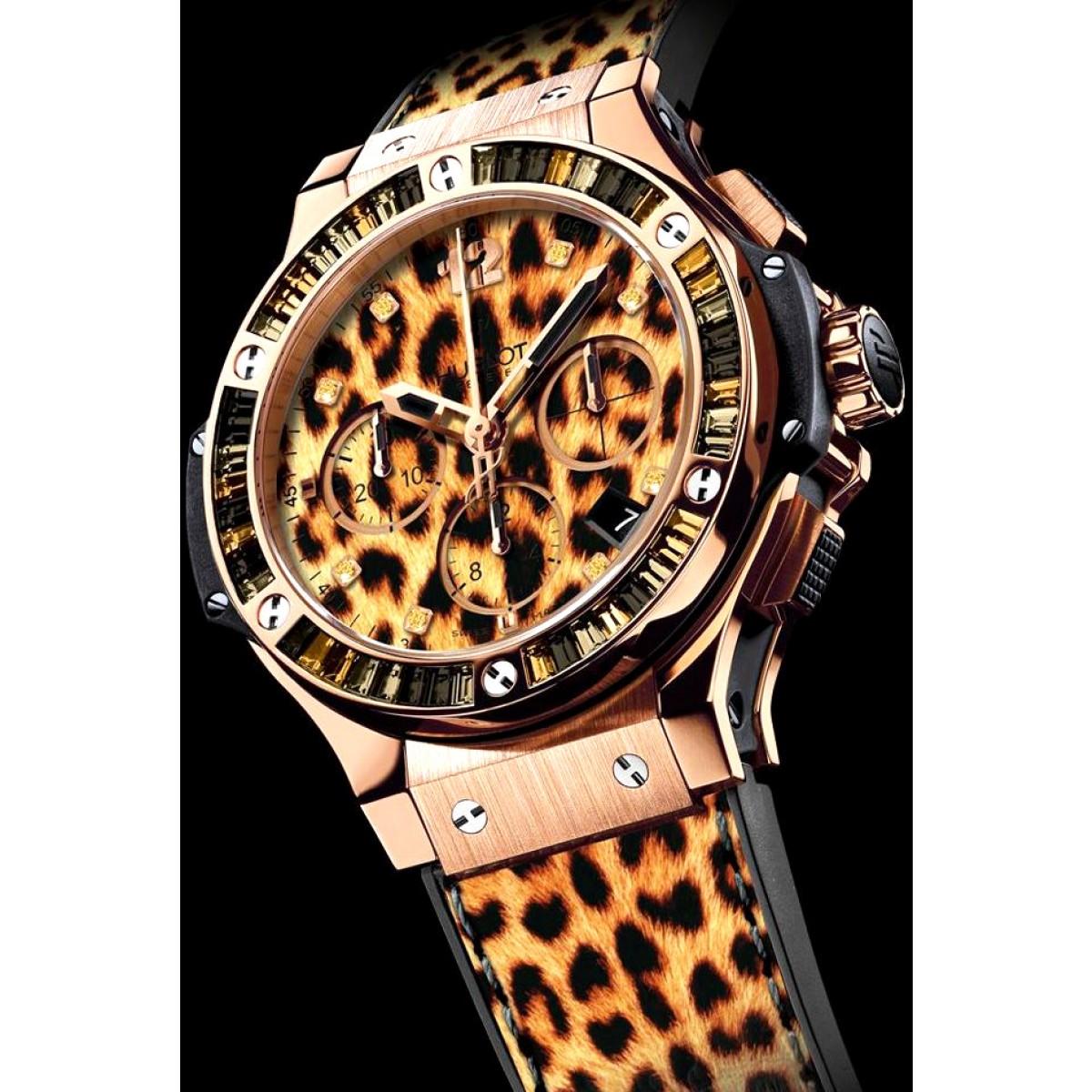 8fb7e1f406e Réplica Hublot Big Bang Leopards · Réplica Relógio ...