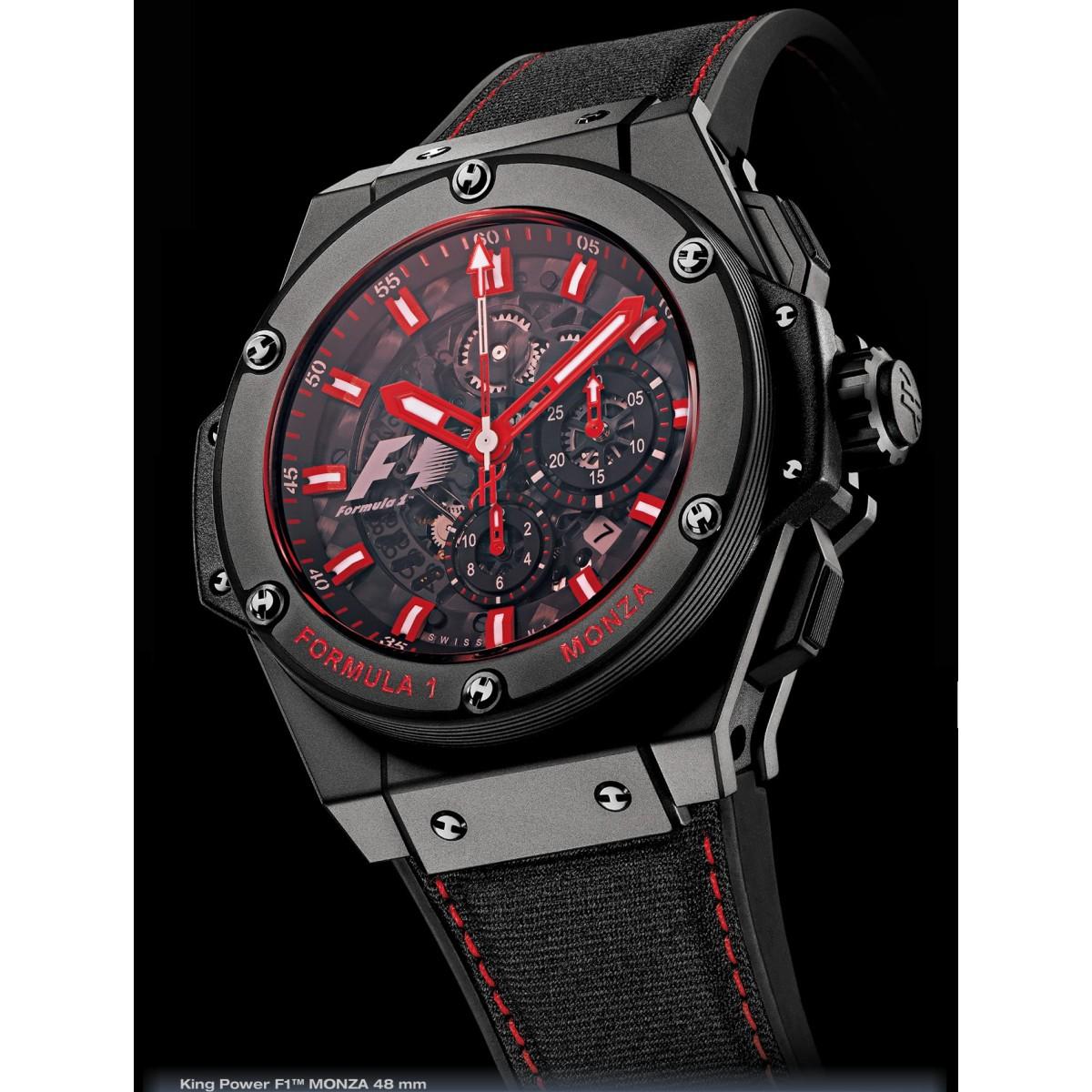 a989f181328 Relógio Réplica Hublot Formula1 Monza