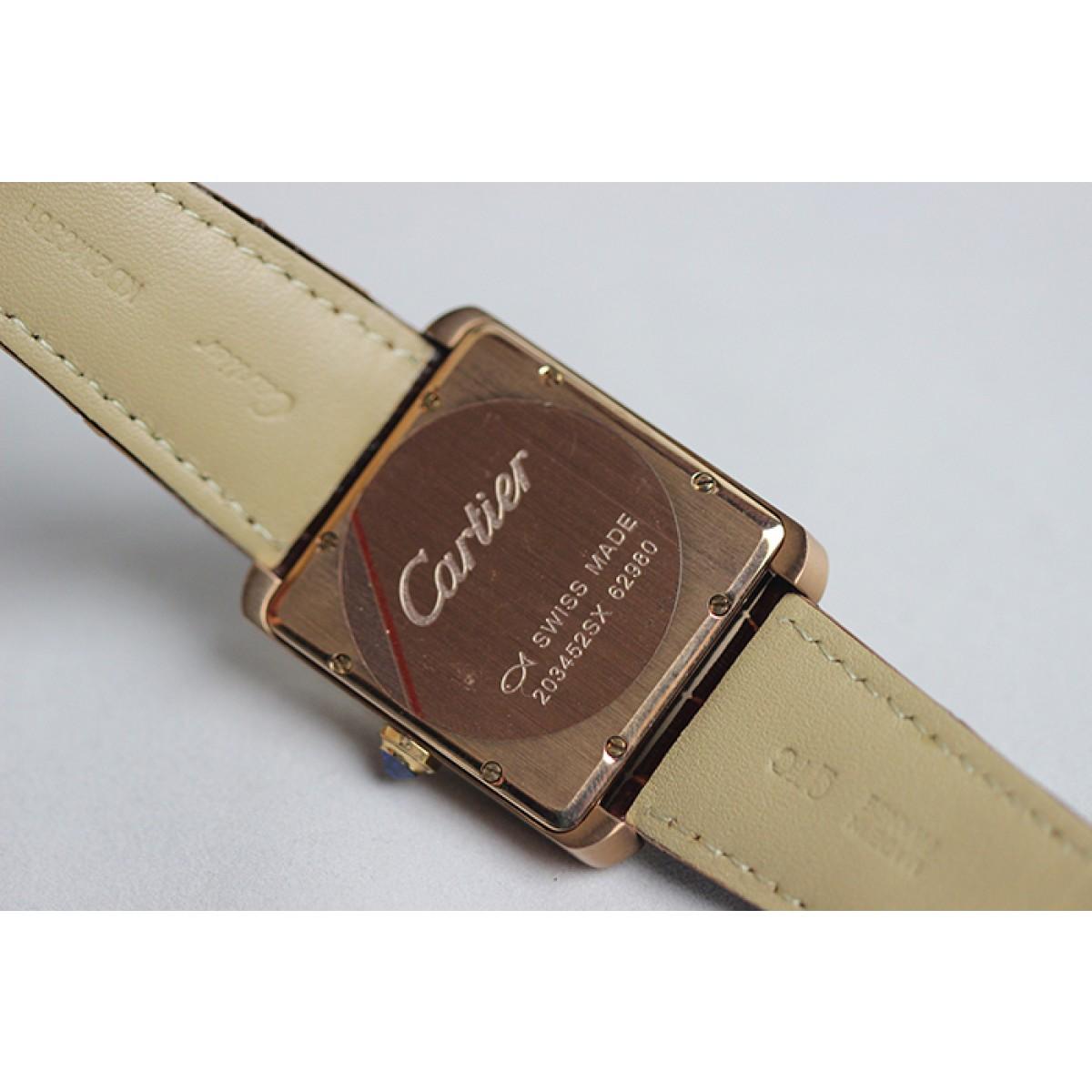 640836db007 Réplica de Relógio Cartier Tank