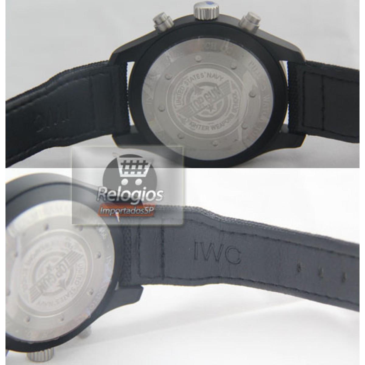 2882ee3cfa4 Relógio Réplica Iwc Top Gun · Iwc Top Gun ...