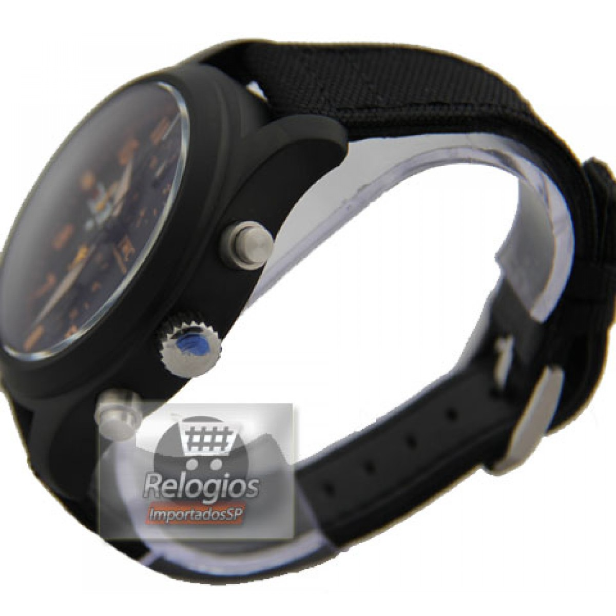 fbcbc8f4374 Relógio Réplica Iwc Top Gun