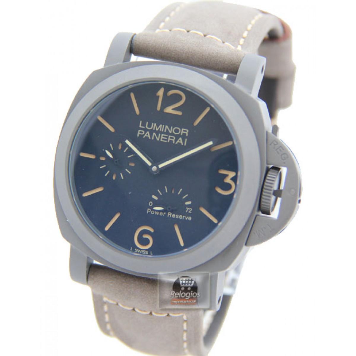 dd3a7fb90ca Relógio Réplica Panerai Luminor Titanium