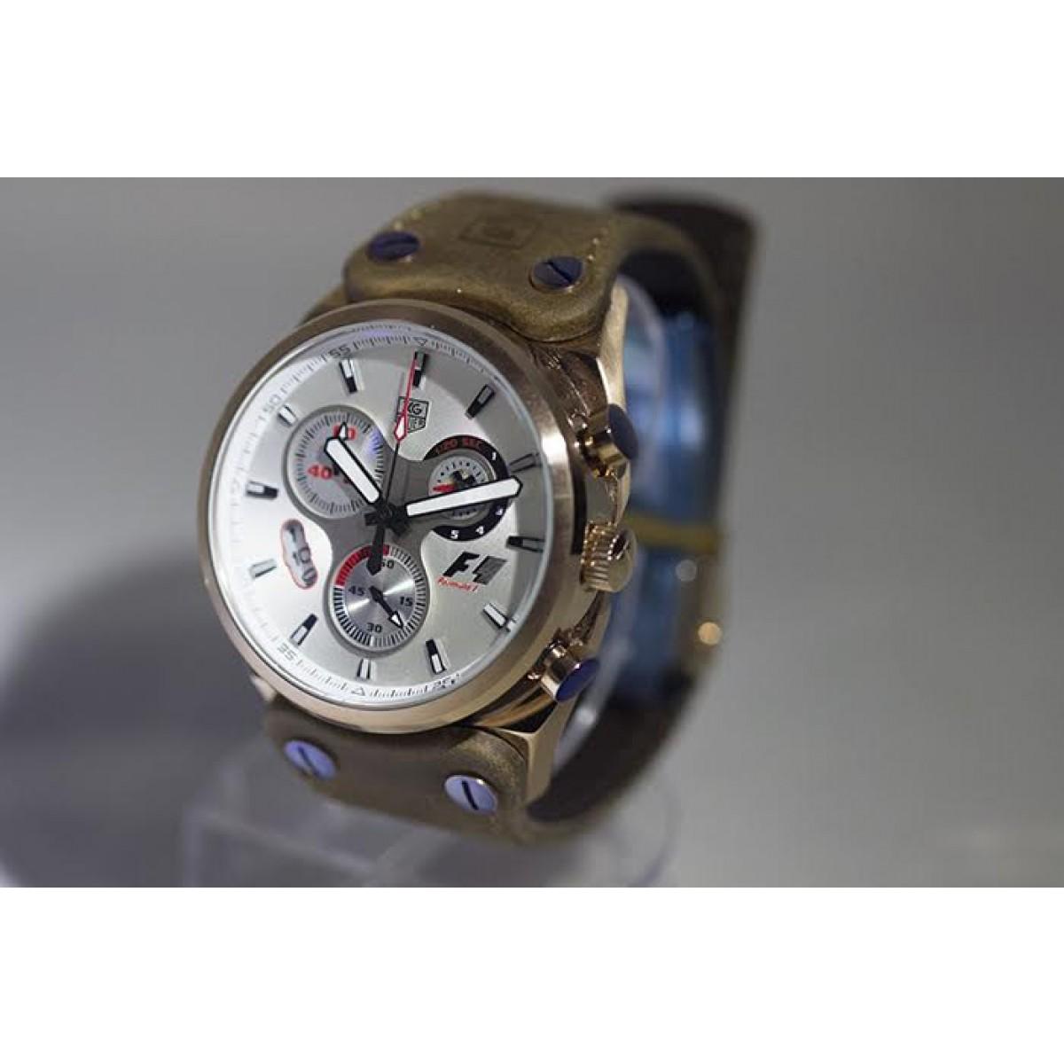 432a6949680 Relógio Réplica Tag Heuer Formula 1 Branco