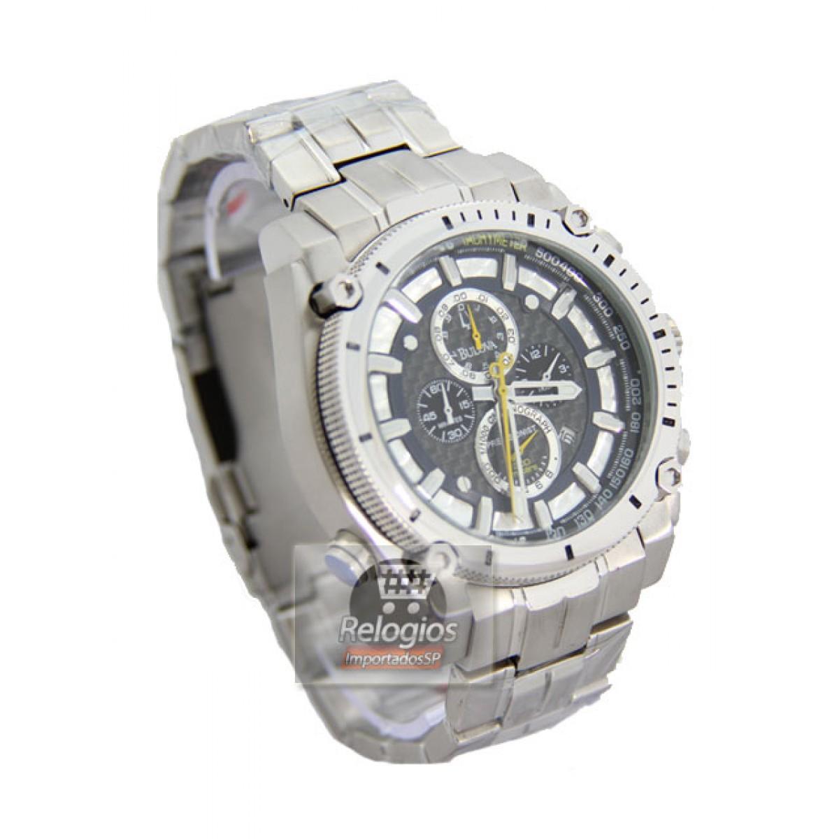 d0ab34a23e0 Relógio Réplica Bulova 96b175 Precisionist