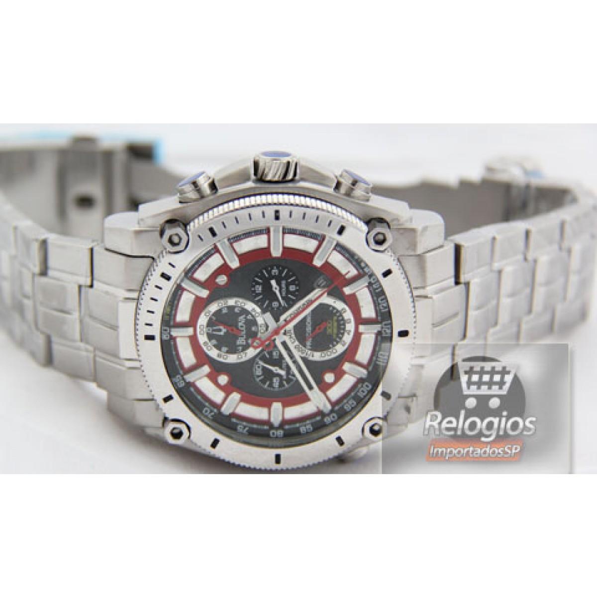 a56c1ea787b Relógio Réplica Bulova Precisionist Red