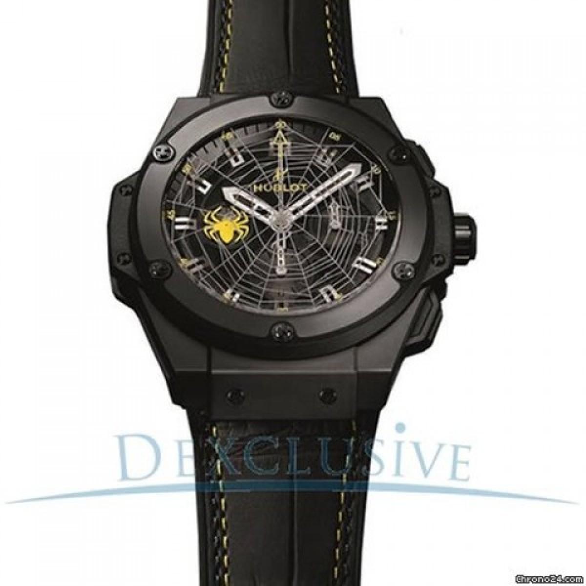 0d1651481f7 Espiar · Relógio Réplica Hublot King Power Spider