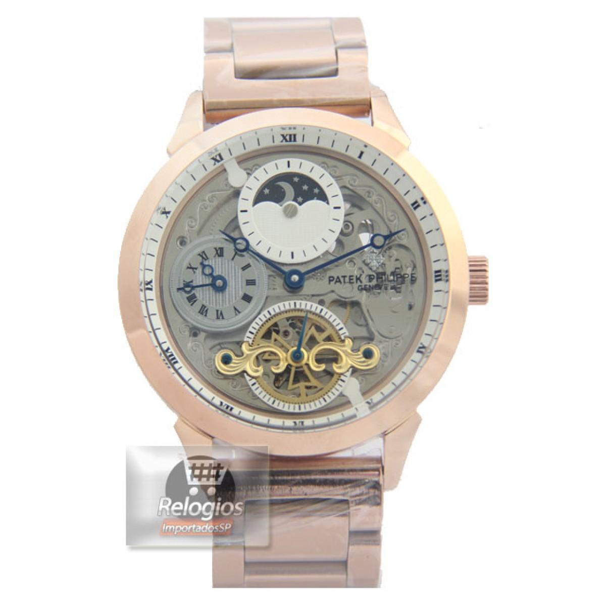 e1dca17cc3d Relógio Réplica Patek Philippe Geneve