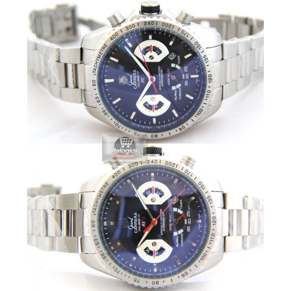 ec60d5cab8d Relógio Réplica Tag Heuer Grand Carrera 17 Rs3