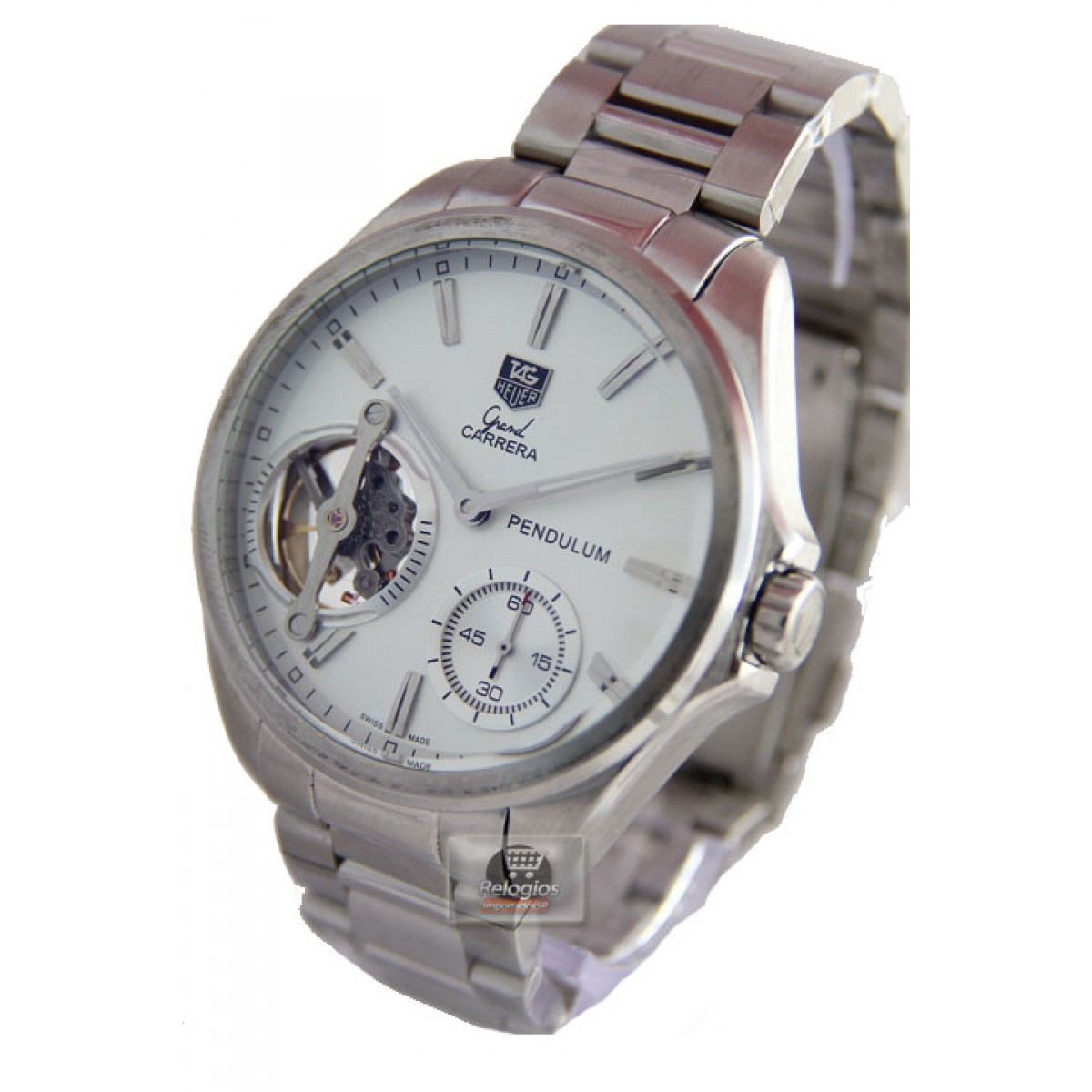 0d42de93b06 Relógio Réplica Tag Heuer Grand Carrera Pendulum