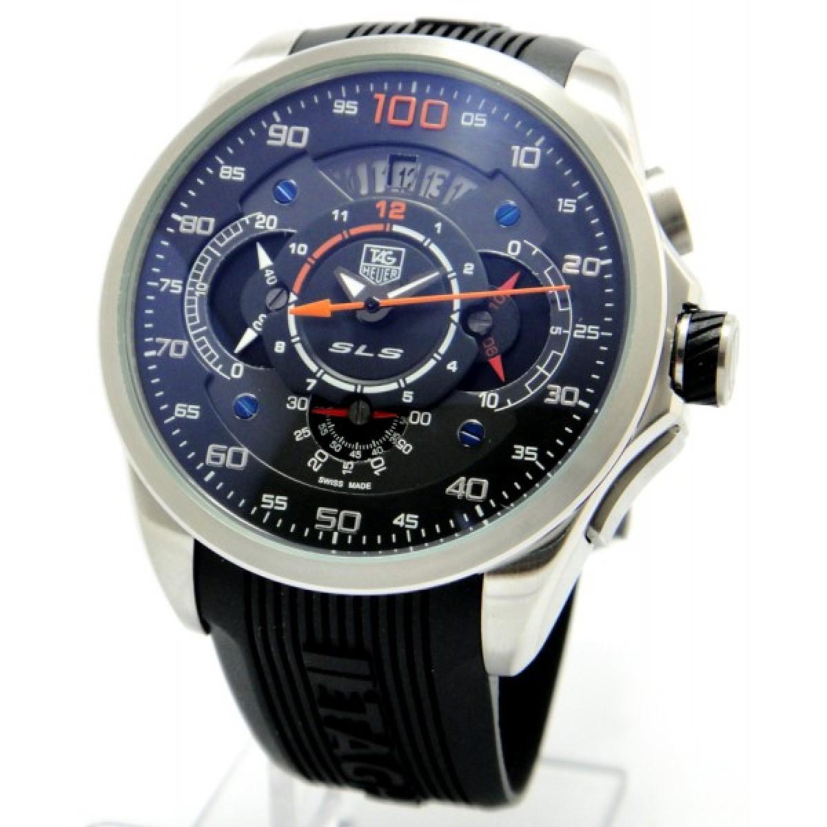 c867d4d7f9f Relógios Réplica Tag Heuer Carrera Mercedez Slr Laranja