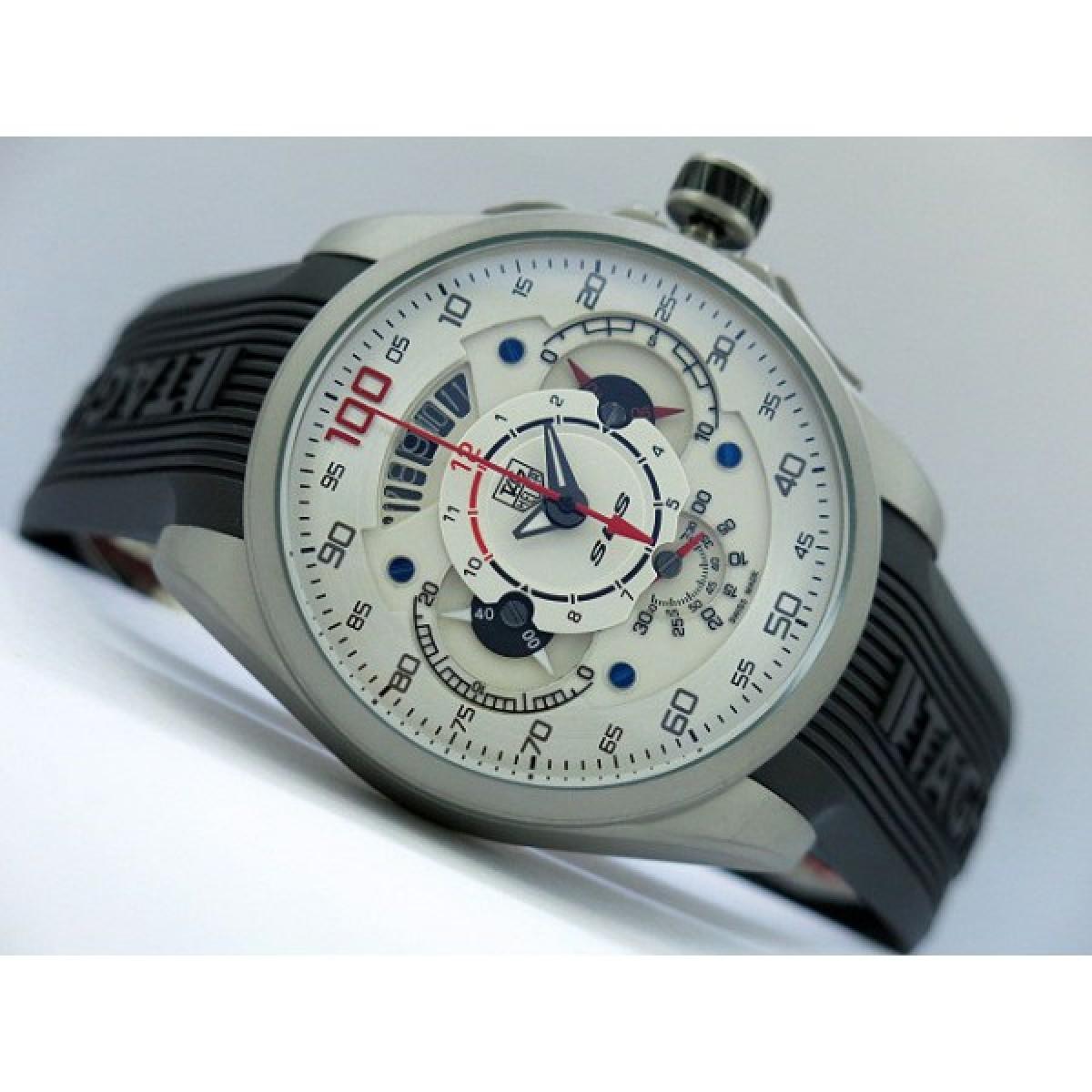 c97a2381491 Relógio Réplica Tag Heuer Carrera Mercedez Slr