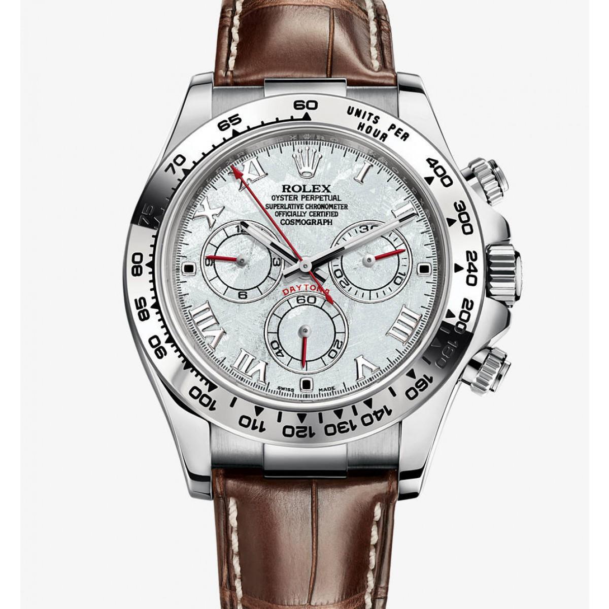 062133ecf60 Relógio Réplica Rolex Cosmograph Daytona Silver