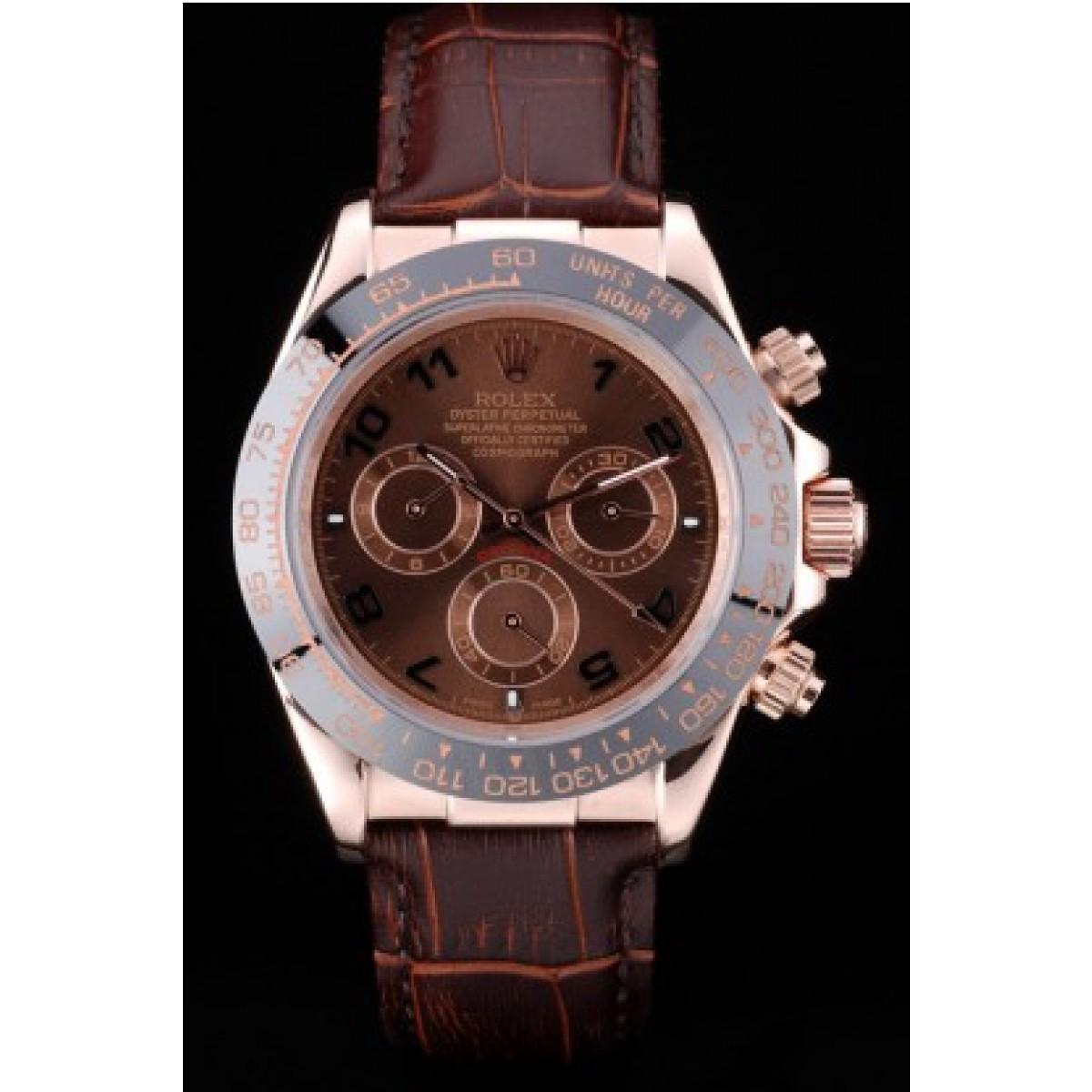 ab0198fcb64 Réplica Relógio Rolex Daytona Chocolate ...